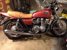 1978 Kawasaki KZ650 Up and running for Spring 2014!