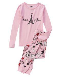 Dream Of Paris 2-Piece Pajama Set at Crazy 8