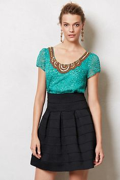 Sachin   Babi Carcanet Blouse #anthropologie (Green)