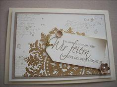 einladungskarten zur goldenen hochzeit texte | karten | pinterest, Einladung