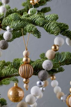 24 of Our Most Memorable DIY Christmas Ornaments Decoration Christmas, Beaded Christmas Ornaments, Farmhouse Christmas Decor, Noel Christmas, Handmade Ornaments, Homemade Christmas, Christmas Crafts, Glass Ornaments, Nutcracker Christmas
