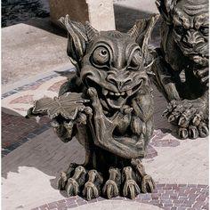 Design Toscano The Gothic Gargoyle Sculpture - Babble - CL3689