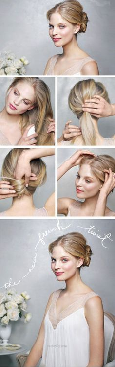 Easier Than It Looks Updo Diy Wedding Hairstyles For Medium Hair