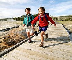FamilyFun's Top 12 Family Vacation Destinations: #9 Yellowstone National Park, WY, MT, ID