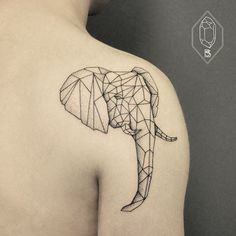 Whimsical Black Tattoos : Caitlin Thomas