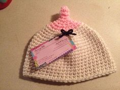 Hey, I found this really awesome Etsy listing at https://www.etsy.com/listing/169637743/breastfeeding-boobie-beanies