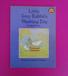 Vintage book 'Little grey rabbit's washing day' / Libro 'El dia de colada de conejita gris' | Flickr - Photo Sharing!
