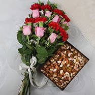 Dry Fruit Combos Unique Mothers Day Gifts, Mother Day Gifts, Dry Fruits Online, Send Flowers, Gift Vouchers, Dried Fruit, Special Day, Floral Wreath, Table Decorations
