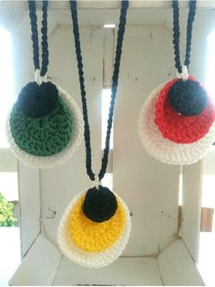 Handmade Necklaces, Handmade Jewelry, Crochet Necklace, Handmade Jewellery, Jewellery Making, Diy Jewelry, Craft Jewelry, Handcrafted Jewelry