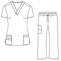 Fashion Sewing Patterns for Professionals Scrubs Pattern, Suit Pattern, Dress Sewing Patterns, Clothing Patterns, Large Size Clothing, Mouth Mask Fashion, Scrubs Uniform, Medical Scrubs, Nursing Clothes
