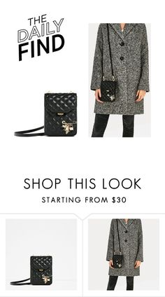 """""""The Daily Find: Zara Mini Crossbody Bag"""" by polyvore-editorial ❤ liked on Polyvore featuring DailyFind"""