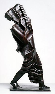 Ossip Zadkine, Orphee marchant - 1930 - Zadkine Research Center