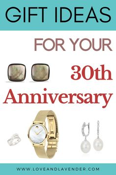 26 Prized Pearl Anniversary Gift Ideas for Your 30th Year | Jewelry Gifts for Her