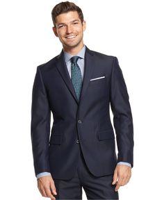 Solid Slim-Fit Jacket - Blazers & Sport Coats - Men - Macy's