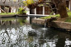 Geoffrey Bawa Water Architecture, Tropical Architecture, Vernacular Architecture, Modern Tropical, Tropical Style, Tropical Houses, Beautiful Gardens, Beautiful Homes, Dutch Colonial Homes