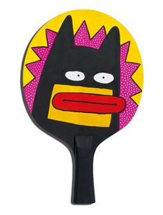 The Art of Ping Pong – Bat designed by Al Murphy