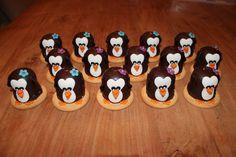 Jose Kroon heeft ook weer mooie pinguins gemaakt! Super leuke traktatie!