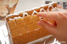 3 Ways to Make Gingerbread Houses Using Graham Crackers - wikiHow
