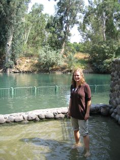 The Jordan River in Israel.