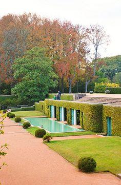 Serralves gardens, Porto, Portugal