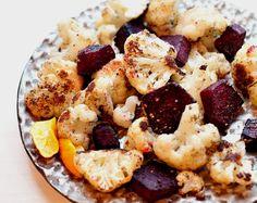 cauliflower and beets salad
