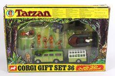 Corgi Toys GS 36 Tarzan Gift Set