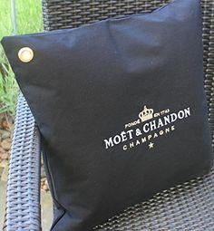 1 x Kissenbezug Sanzibar Champagne Moet Chandon Ice Imperial Kissen Pillow Cushion
