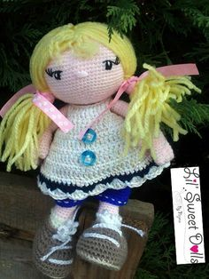 muñeca ganchillo http://amigurumisnajma.wordpress.com