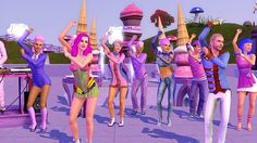 The Sims 3 Showtime Katy Perry Special Edition! Sims Games, Simulation Games, Blake Shelton, Electronic Art, A Cartoon, Sims Cc, Katy Perry, Kylie, Product Launch