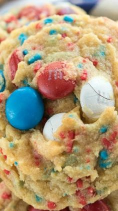 Fireworks Pudding Cookies