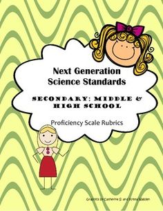 These proficiency scale rubrics comb apart each Middle and High School Next Generation Science Standard and Performance Indicator by delineating various cognitive demands to be performed by students. This makes for efficient and effective standards-based instruction!This set also includes one formative assessment matrix for each Middle and High School NextGen standard making it easy for teachers to plan, organize and execute formative assessments for student learning and growth!