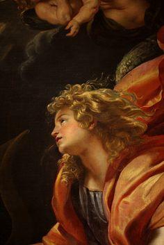 Peter Paul RUBENS The Annunciation 1610 (detail)