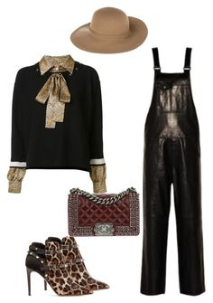 """""""Untitled #1162"""" by louneia ❤ liked on Polyvore featuring Sonia Rykiel, Armani Jeans, Valentino and Chanel"""