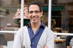 Yotam Ottolenghi is one of my favorite Cookbook Authors both his Plenty and Jerusalem are well worn! and I can't wait for Ottelenghi: The Cookbook out in Sept 2013 to arrive! his food is uncomplicated and unadultered! Yotam Ottolenghi, Ottolenghi Recipes, Salsa Tomate, Chefs, Otto Lenghi, Grape Jelly Meatballs, Vegan Dishes, Sweet Desserts, Healthy Cooking