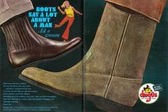 Sell Me Yesteryear: Dingos Boots