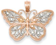 New Gold Butterfly Jewelry has Fluttered In! - ApplesofGold.com