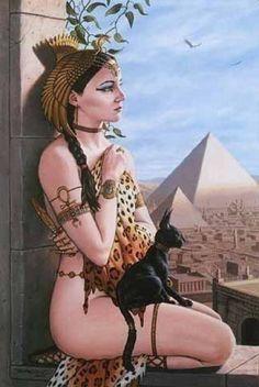 Wadjet Egyptian Goddess | egyptian queen Image