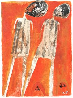 """Two Figures"" by Scott Bergey on Etsy."