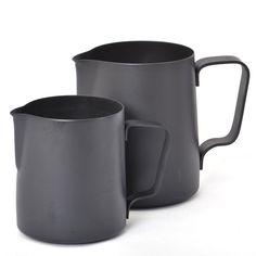 20oz black steel Teflon jug