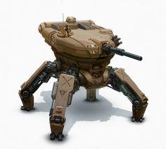 sci fi tank tread - Google Search