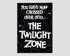 Twilight Zone Cross Stitch Twilight Zone Rod by NewYorkNeedleworks, $8.50