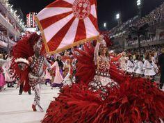 """O enredo do Salgueiro para o carnaval de 2014 é """"Meu samba vai tocar seu coração"""". Confira os finalistas e vote nosamba-enredo da sua preferência."""