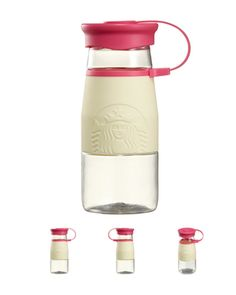 2015 Korea Starbucks Christmas Zia Holiday White Water Bottle 473ml 2ea Set | eBay