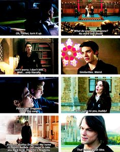 Vampire Academy - first & last quotes