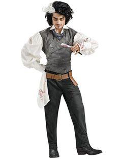 $139.81Black Sweeney Todd Deluxe #Adult #Cosplay #Costume