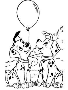 101 Dalmatiner malvorlagen – Ausmalbilder für kinder