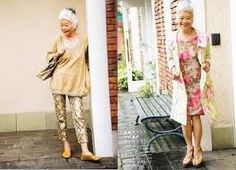 Chic Over 50, Mature Fashion, Advanced Style, Aging Gracefully, Japanese Fashion, Fashion Outfits, Womens Fashion, I Dress, Look