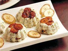 Italian Food ~ #food #Italian #italianfood #ricette #recipes #sweets ~ Recipe BUDINI LITTLE RICE WITH PISTACHIO AND BANANAS (PICCOLI BUDINI DI RISO CON PISTACCHI E BANANE)