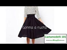 8aba4cd820e5 Gonna a ruota - Cartamodelli 101 con Maria Luisa