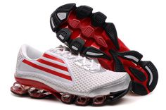 Adidas Titan Bounce White Black Red Hypermotion Running Shoes